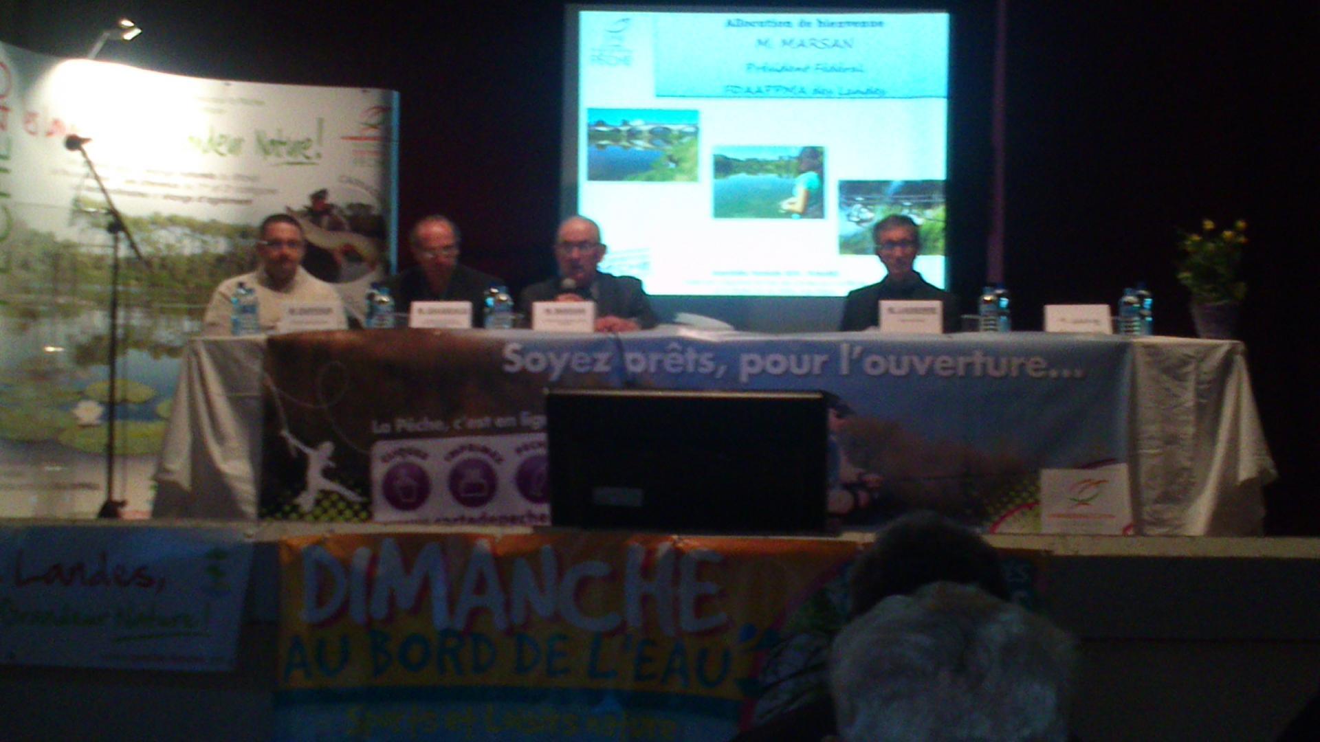 AG Fédération à Pomarez 2018