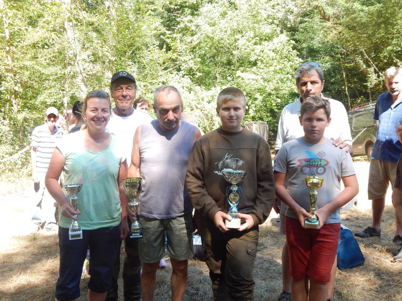 Gagnants Concours de Pêche de Roquefort 2016