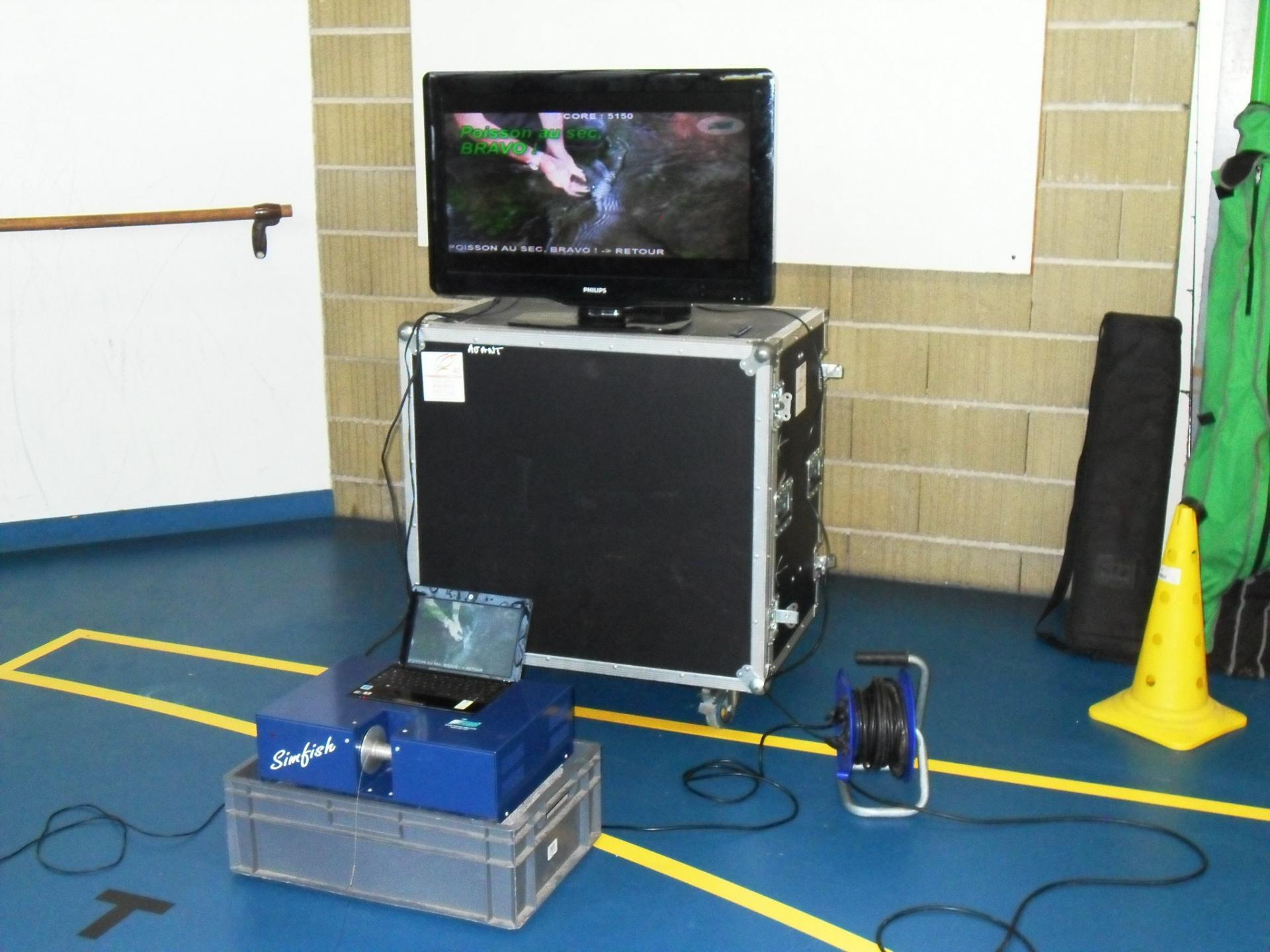Simulateur de pêche de la Fédération