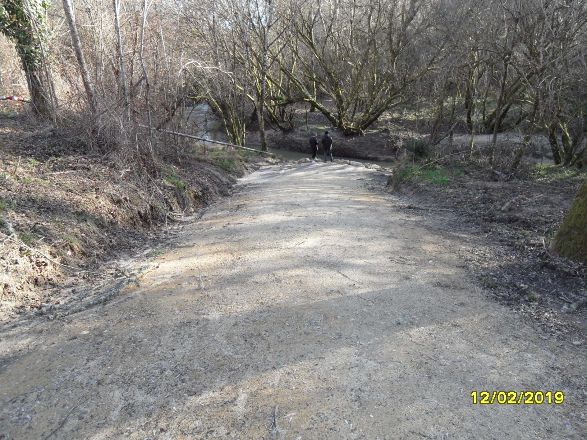 Chemin de Lasaouque