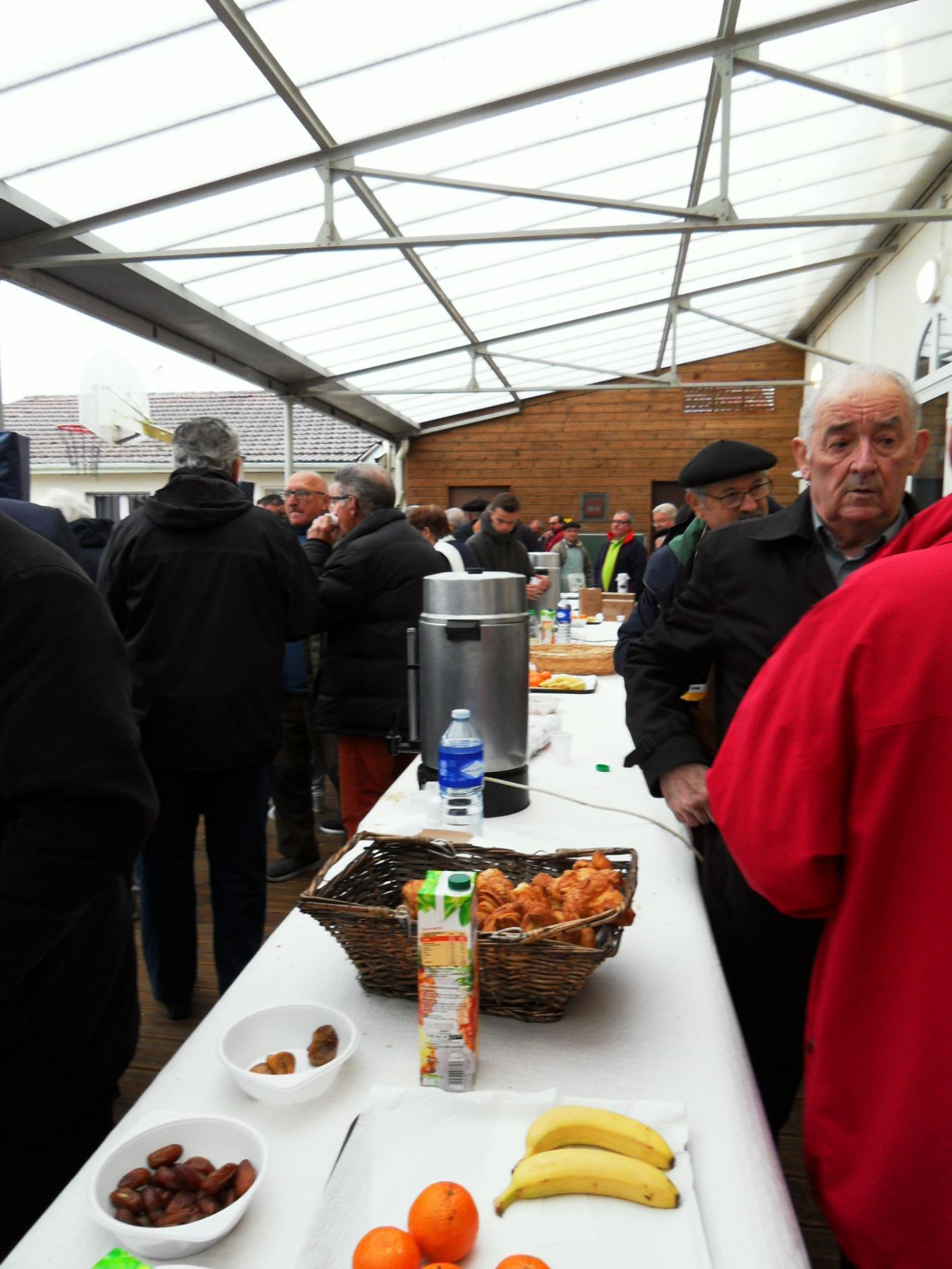 Petit déjeuner d'accueil à Labouheyre