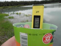 PH sur l'étang Sud